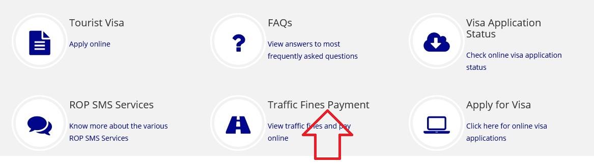 rop gov om Traffic Fines Online Payment : Royal Oman Police