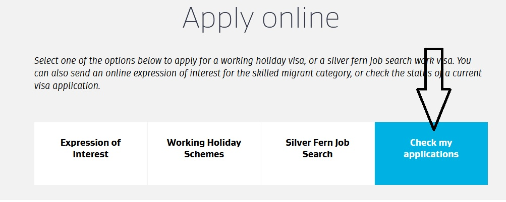 Immigration : Check Application Status Online New Zealand