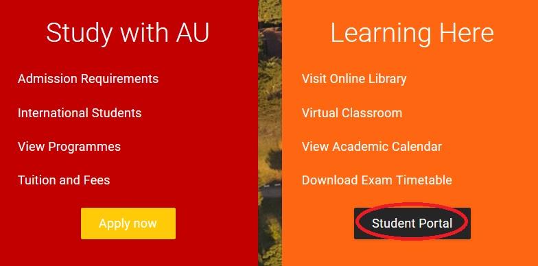 africau edu Student Results Online Zimbabwe : Africa University