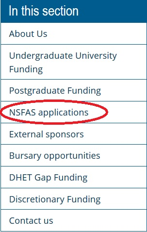 wits.ac.za : NSFAS Application Status Online South Africa ...