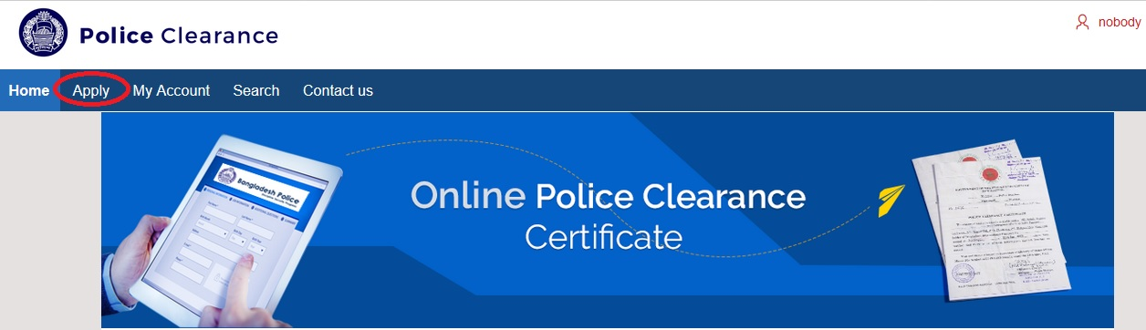 police gov bd : PCC Clearance Certificate Bangladesh – www