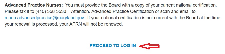 mbon.org Online License & Certification Renewal : Maryland Board of ...